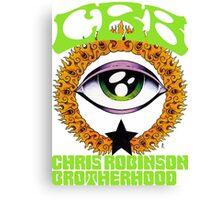 tour date the chris robinson brotherhood time 2016 cl3 Canvas Print