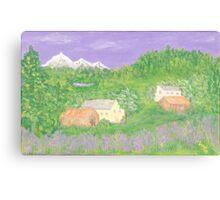 Mittersill, Austria Canvas Print