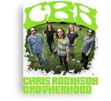 tour date The Chris Robinson Brotherhood time 2016 cl4 Canvas Print