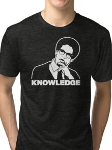 Sowell Knowledge Tri-blend T-Shirt