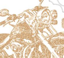 LXL - Motorcycle Club Sticker