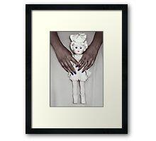 See My Doll Framed Print