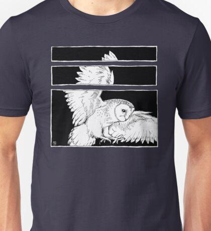 White Owl Unisex T-Shirt