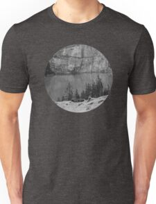 Mountain Greyscale Unisex T-Shirt