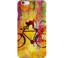 Cat and Bicycle iPhone Case/Skin