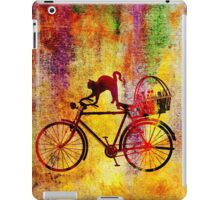 Cat and Bicycle iPad Case/Skin