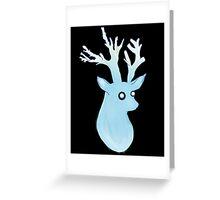 Water Deer Greeting Card