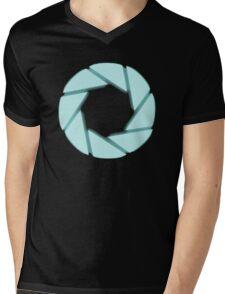 Portal Aperture Mens V-Neck T-Shirt