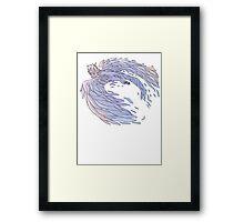 Pastel Wings Framed Print