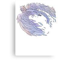 Pastel Wings Canvas Print