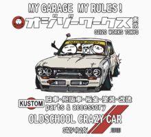 Crazy Car Art 0132 One Piece - Short Sleeve