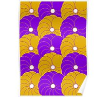 Cushion Circles Design Five Poster