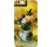The Breakfast Table iPhone Case/Skin