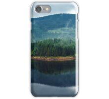 Lake Oasa at sunset in Romania iPhone Case/Skin