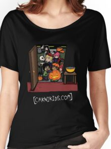 Carnikids: Trick-or-Treat Color (Dark) Women's Relaxed Fit T-Shirt