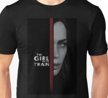 the girl on the train tunnel Unisex T-Shirt