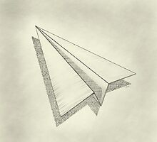 Paper AIrplane 19 by YoPedro