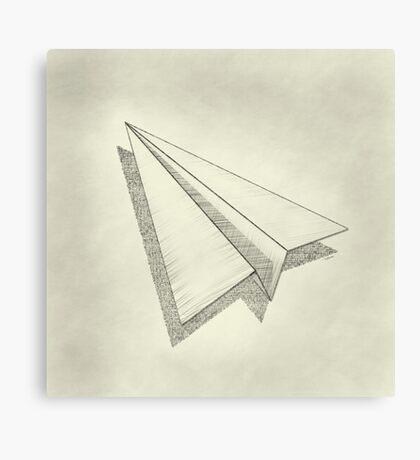 Paper Airplane 19 Canvas Print