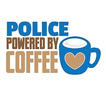 POLICE powered by Coffee Photographic Print