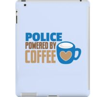 POLICE powered by Coffee iPad Case/Skin