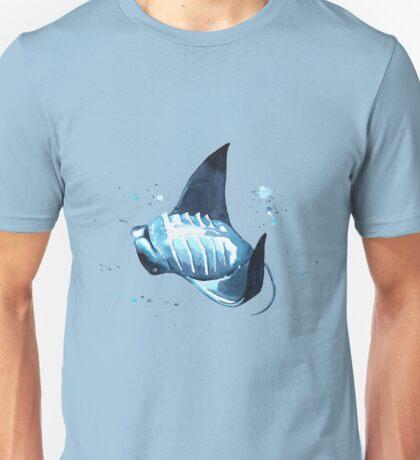 Manta Ray Underwater Dance Unisex T-Shirt