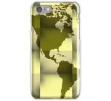 3d World map 3 iPhone Case/Skin