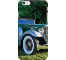 1933 Packard 1006 Convertible 2 iPhone Case/Skin