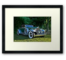 1933 Packard 1006 Convertible 2 Framed Print