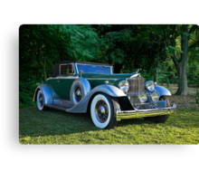 1933 Packard 1006 Convertible 2 Canvas Print