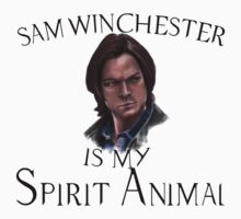 Sam Spirit Animal Kids Tee