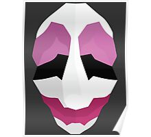 Jim Hoxworth - Payday Retro Mask Poster