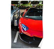 Lamborghini Aventador 50th Anniversario Poster