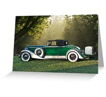 1933 Packard 1006 Convertible 1 Greeting Card