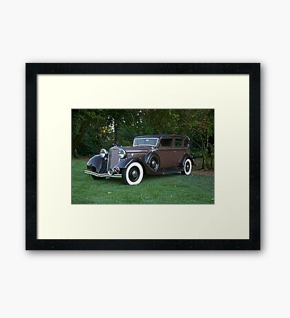 1933 Lincoln Sedan Framed Print