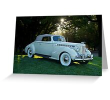 1930's Packard Convertible Coupe Greeting Card
