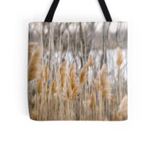 Reeds of Winter Tote Bag