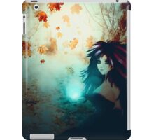 Spooky Forest and Dark Witch iPad Case/Skin