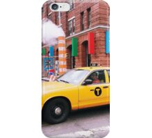 Taxi Smoke iPhone Case/Skin
