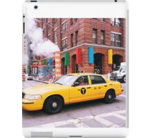 Taxi Smoke iPad Case/Skin