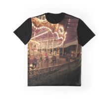 King Arthur Carrousel - Disneyland Graphic T-Shirt