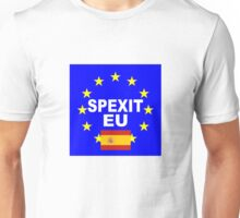 Spexit Espana Spain leave EU Unisex T-Shirt