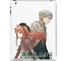 Spice and Wolf iPad Case/Skin
