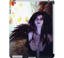 Spooky Forest and Dark Witch 2 iPad Case/Skin
