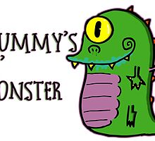Mummy's Lil Monster by zombiemama