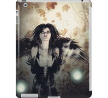 Spooky Forest and Dark Witch 3 iPad Case/Skin