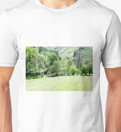 Wolfscote Dale from Gipsy Bank  Unisex T-Shirt