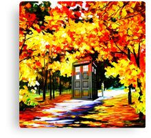 Tardis So Beautiful Canvas Print