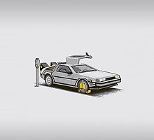 Delorean DMC-12 by limon93