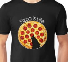 Pizza is Life for a Lone Wolf Unisex T-Shirt