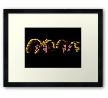 Any way the wind blows Framed Print